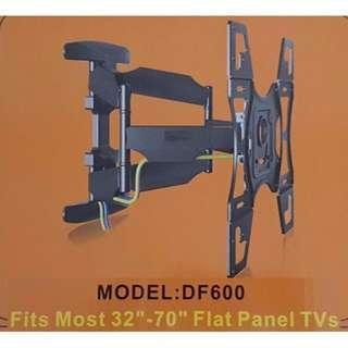 TV Wall Mount Full Motion Tilt-Dual Arm