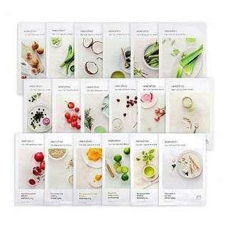 Innisfree - My Real Squeeze Mask | 14pcs = 200k