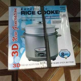 3D Rice Cooker 8 Cups