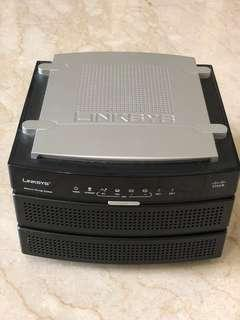 Linksys NAS with 2x500GB HDD