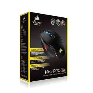 BNIB sealed Corsair M65 Pro RGB Gaming Mouse