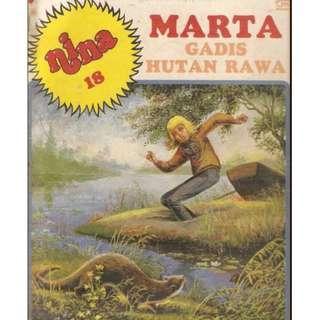 ( eBook Komik ) Nina 18 - Marta Gadis Hutan Rawa