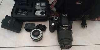 Kamera Nikon 3100
