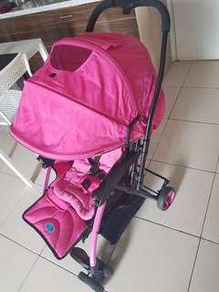 Stroller polo pink
