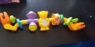 detachable stroller toy for baby