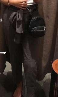 Ribbon pants grey