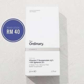 The Ordinary Vitamin C Suspension 23% +HA Sphere 2%