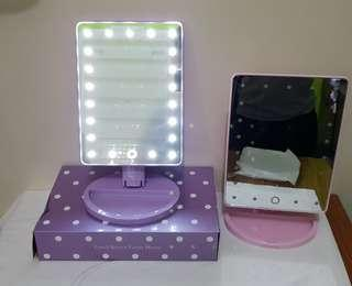 Touchscreen lighted Vanity Mirror