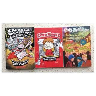 3 Assorted Children's Books