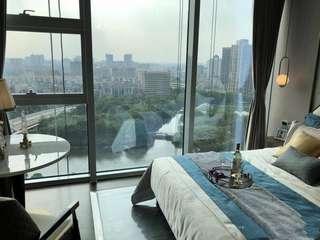 華發江景物業,地鐵上蓋拎包入住,30萬買復式2層