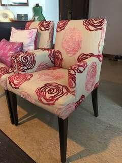 Price Reduced!!!!!  Pair of Customized Arm/Lounge Chairs