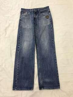 Men's Polo Denim Long Pants Jeans