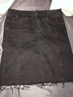 M boutique jean skirt
