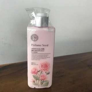 NEW! The Face Shop Perfume Seed Velvet Body Milk