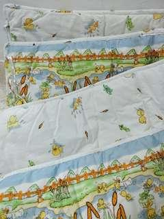 Baby Cot Bumper and free baby bolster