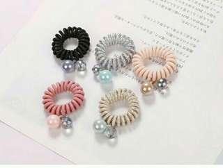 🚚 (3條一組)韓國髮飾/果子甜甜髮束