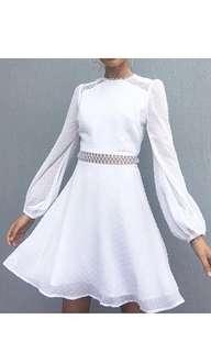 MVN White Lace Dress