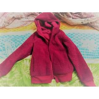 Outerwear Baby Clothes Girl 0-3m Fleecy Lightweight Hooded Pink Jacket 2nd Item Post-free!