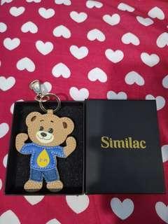 #Blessing similac bear keychain. BNIB
