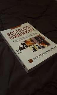 Textbook Sosiologi Komunikasi (free ongkir)