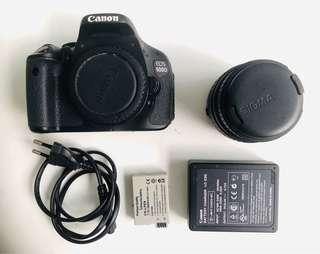 Canon EOS 600D 18.0MP DSLR Camera