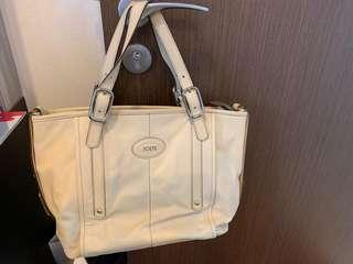 AUTHENTIC TOD's shoulder bag in cream