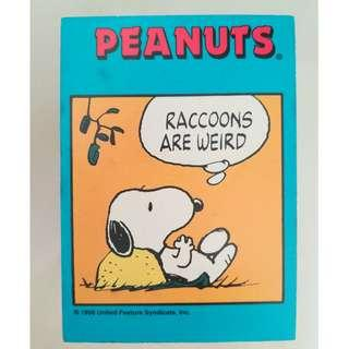 Peanuts cards (Incomplete)