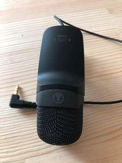 Audio mic for DALR
