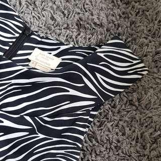 Kate Spade Zebra Dress
