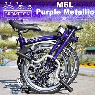 BROMPTON M6L Purple Metallic