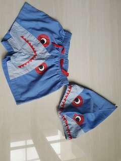 Baby shark swimming pant