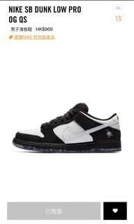 Nike Sb Dunk Low Pro OG QS pigeon panda Jeff Staple