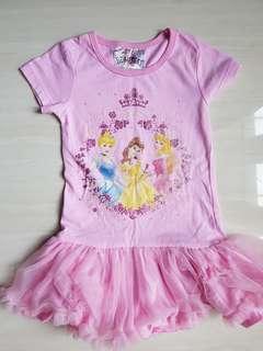 Princess dress kaos tutu