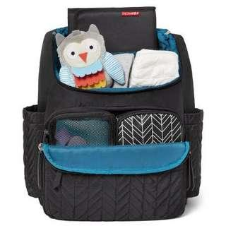 Skip Hop Forma Diaper Backpack - Black