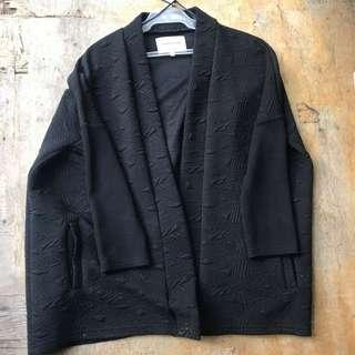 Black Oversized Cover Up