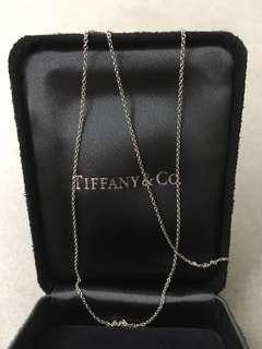 Tiffany & Co Fine Platinum Chain