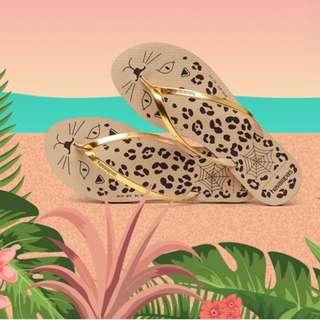 Havaianas X Charlotte Olympia collab