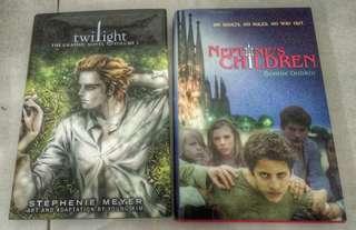 Twilight Neptune's children teenager oolder children young adults hardcover books