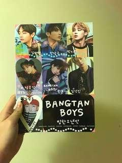 BTS Exercise Book Note