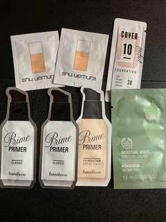 Makeup's sample