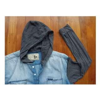Hoodie shirt sz L