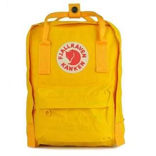 Fjallraven Kanken Classic School Bag Backpack in Yellow Mustard [Instock!!]
