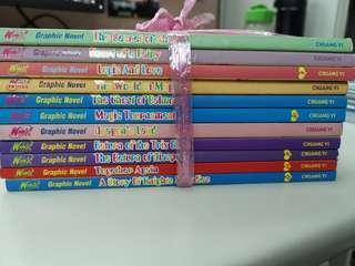 Winx graphic novel 11 books