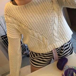 Sportsgirl cream knit jumper