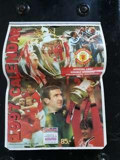 Manchester United 1997 Calender