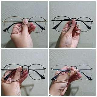 Spectacles Optical Eyewear (can add Power)