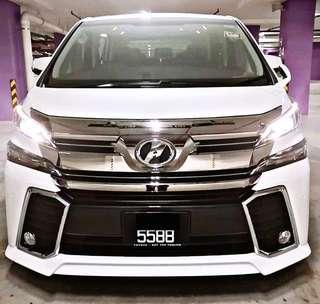 SEWA BELI  TOYOTA VELLFIRE Z 2.5 YEAR 2016/2018 MONTHLY RM 2500 BALANCE 8 YEARS + ROADTAX JULY 2019 MILEAGE LOW 2 POWER DOOR 7 SEATER TIPTOP CONDITION  DP KLIK wasap.my/60133524312/vellnew