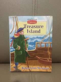 (PRE-LOVED) Treasure Island by Robert Louis Stevenson