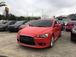 2012年 FORTIS IO版 頂級 紅 跑15萬 熱門車中古車二手車