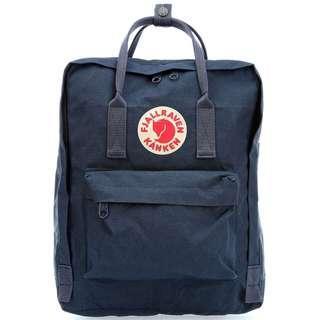 Fjallraven Kanken Classic School Bag Backpack in Navy Blue [Instock!!]